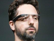 Сергей Брин демонстрирует «умные» очки на конференции