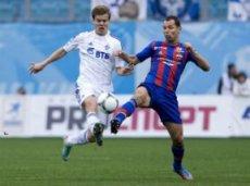 В первом круге «Динамо» обыграло ЦСКА со счётом 2:0