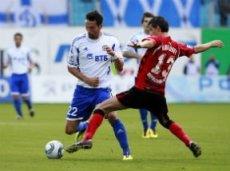 В первом круге «Динамо» выиграло у «Амкара» со счётом 3:2