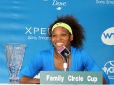 Серена Уильямс является действующей победительницей турнира в Чарльстоне