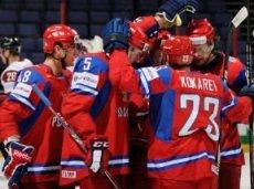 Россияне показывают чемпионскую игру
