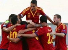 Испанцы выиграют титул чемпионов Европы среди команд до 21 года