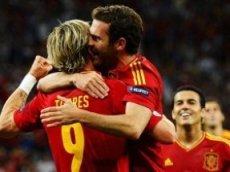 Испанцы победят итальянцев с разницей минимум в два гола