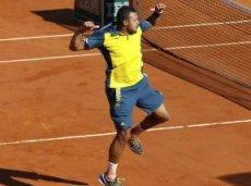 Тсонга пока не отдал на Roland Garros соперникам ни одного сета