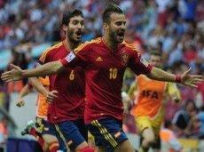 Испания и Уругвай не единожды смогут обменяться голами