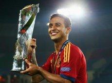 В составе молодежки Испании Тиаго нынешним летом завоевал титул европейского чемпиона