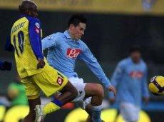 «Наполи» проиграл во всех гостевых матчах против «Кьево» за последние три сезона, не забив ни одного гола