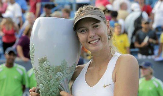 Шарапова выигрывала турнир в Цинциннати в 2011 году