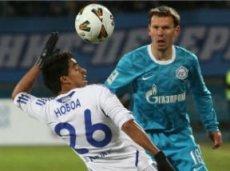 «Зенит» не проигрывает «Динамо» с 2009 года