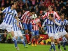 «Сосьедад» и «Атлетико» к перерыву не выявят сильнейшего