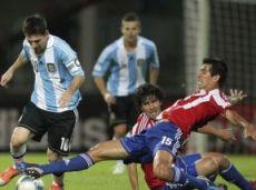 Парагвай и Аргентина обменяются голами