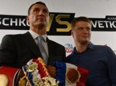 В соперников Кличко у букмекеров традиционно веры нет