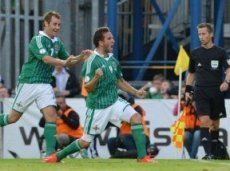 Азербайджан и Северная Ирландия пробью тотал 2.5 гола