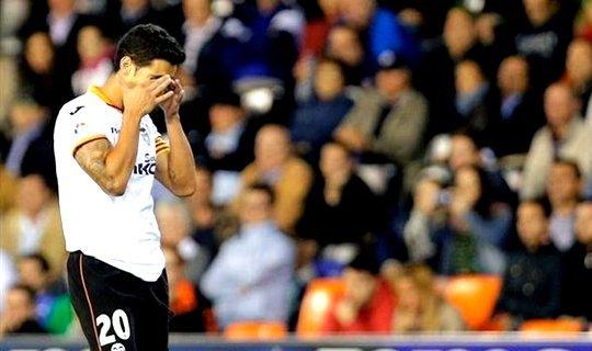 """""""Валенсия"""" не одержала ни одной победы в четырех предыдущих матчах"""
