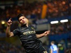Серхио Агуэро забил четыре гола в трех играх против «Норвича» в АПЛ