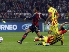 Несмотря на далекую от идеальной форму, «Милан» стабильно забивает соперникам