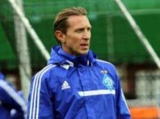 Тренер «Динамо» ставит на счет 1:0 в пользу Украины