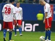 Игрок «Гамбурга» Ласогга забил восемь голов в девяти матчах Бундеслиги