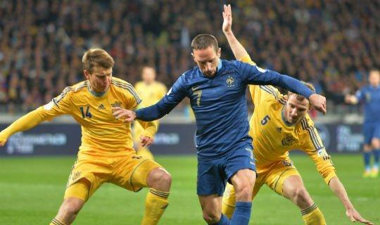 Французы выиграют у украинцев