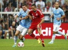 В предыдущей встрече «Баварии» и «Манчестер Сити» мюнхенцы забили трижды