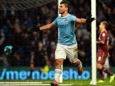 Серхио Агуэро забил 13 голов в последних 12 матчах Премьер-лиги