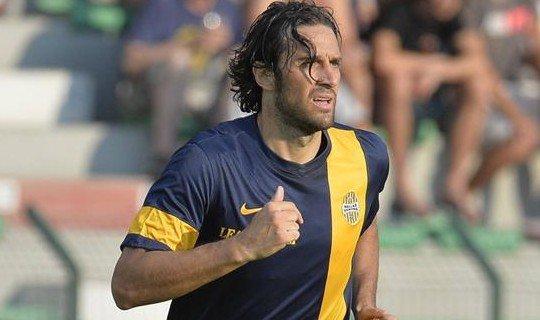 Лука Тони забил 9 мячей в нынешнем сезоне в Серии А