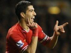 Суарес забил 16 голов в 9 матчах на «Энфилде»
