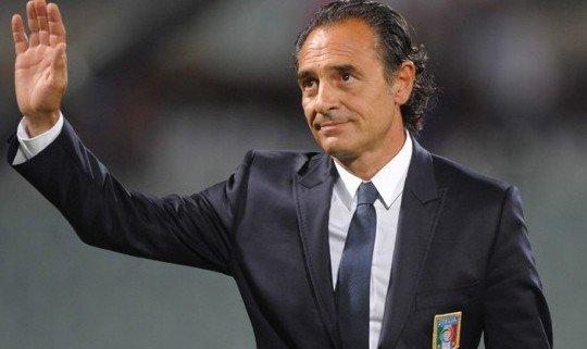 Чезаре Пранделли вновь вызвал в сборную Италии большое число атакующих игроков