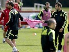 Фабрегас был выгнан с тренировки Испании