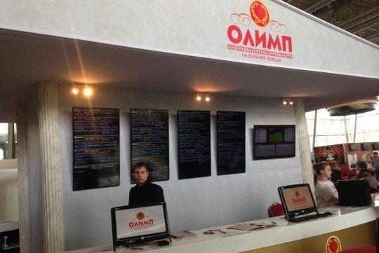 Стенд БК «Олимп» на Russian Gaming Week