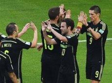 Испания крупно обыграла Австралию
