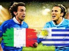Италия и Уругвай поспорят за путевку в плей-офф