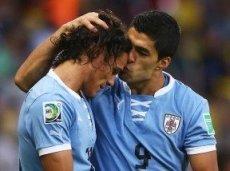 Робби ставит на Уругвай