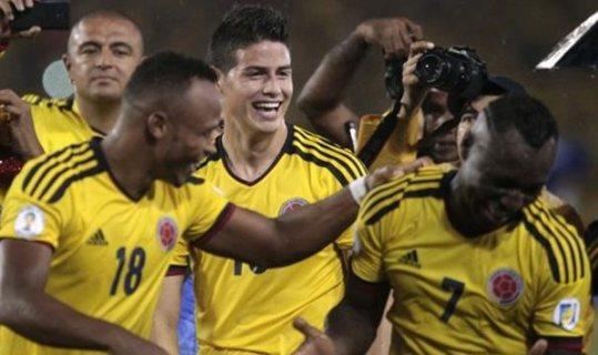 Колумбийцы пройдут уругвайцев на пути к 1/8 финала