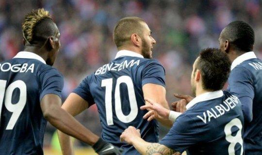"""Франция победит, в матче будет """"верх"""""""