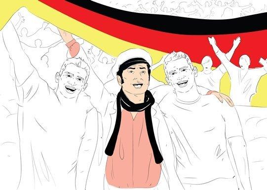 Сегодня я и мои дальние родственники, Ларс и Свен Бендеры, будем болеть за Германию