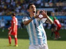 Гол Анхеля ди Марии на 118-й минуте матча со швейцарцами позволил сборной Аргентине выйти в 1/4 финала