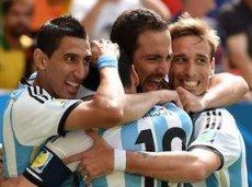 Игуаин забил единственный мяч аргентинцев в игре против сборной Бельгии