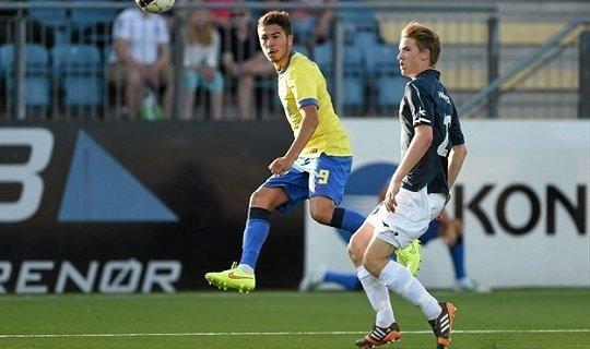 Габриэл Янку забил единственный мяч в первой игре команд