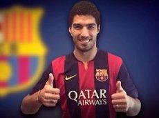Луис Суарес стал новобранцем Барселоны