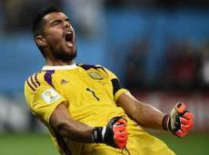 Серхио Ромеро еще не пропустил ни одного гола в раунде плей-офф