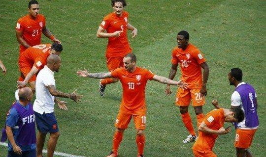Букмекеры оценивают шансы Голландии ниже, чем шансы Аргентины