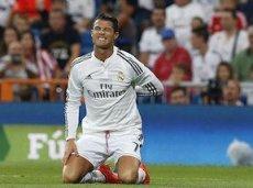 Криштиану Роналду был вынужден покинуть поле после перерыва
