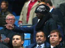 Матч «Манчестер Сити» - «Ливерпуль» Балотелли смотрел с трибун стадиона «Этихад»