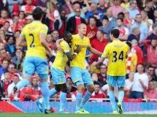 В последнем сезоне АПЛ футболисты «Пэлас» забили 7 мячей в лондонских дерби