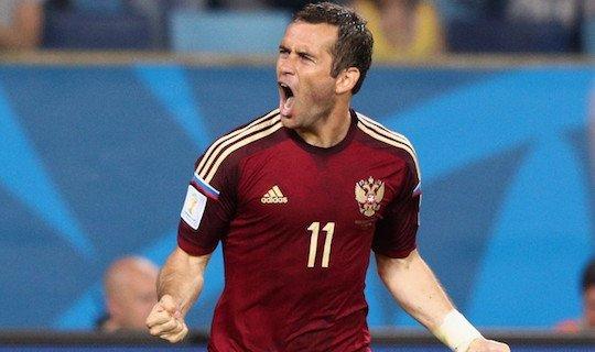 Кержаков обогнал Владимира Бесчастных по количеству голов за сборную