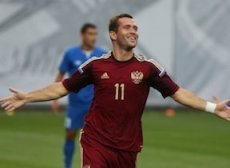 Кержаков забил 28 голов в футболке сборной