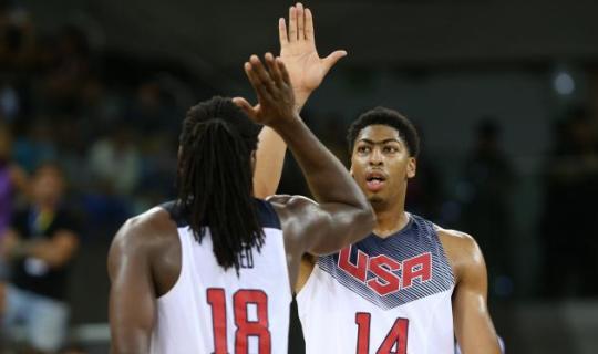 Со своим главным конкурентом - Испанией - сборная США по баскетболу может встретиться не раньше финала