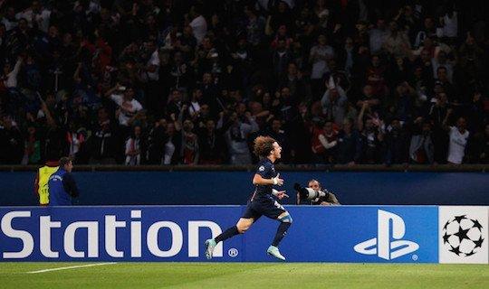 Давид Луиз забил первый гол, а через минуту грубо ошибся в обороне