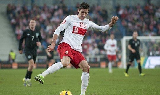 Левандовский отправил четыре мяча в ворота Гибралтара